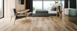 Suelo de madera habitación